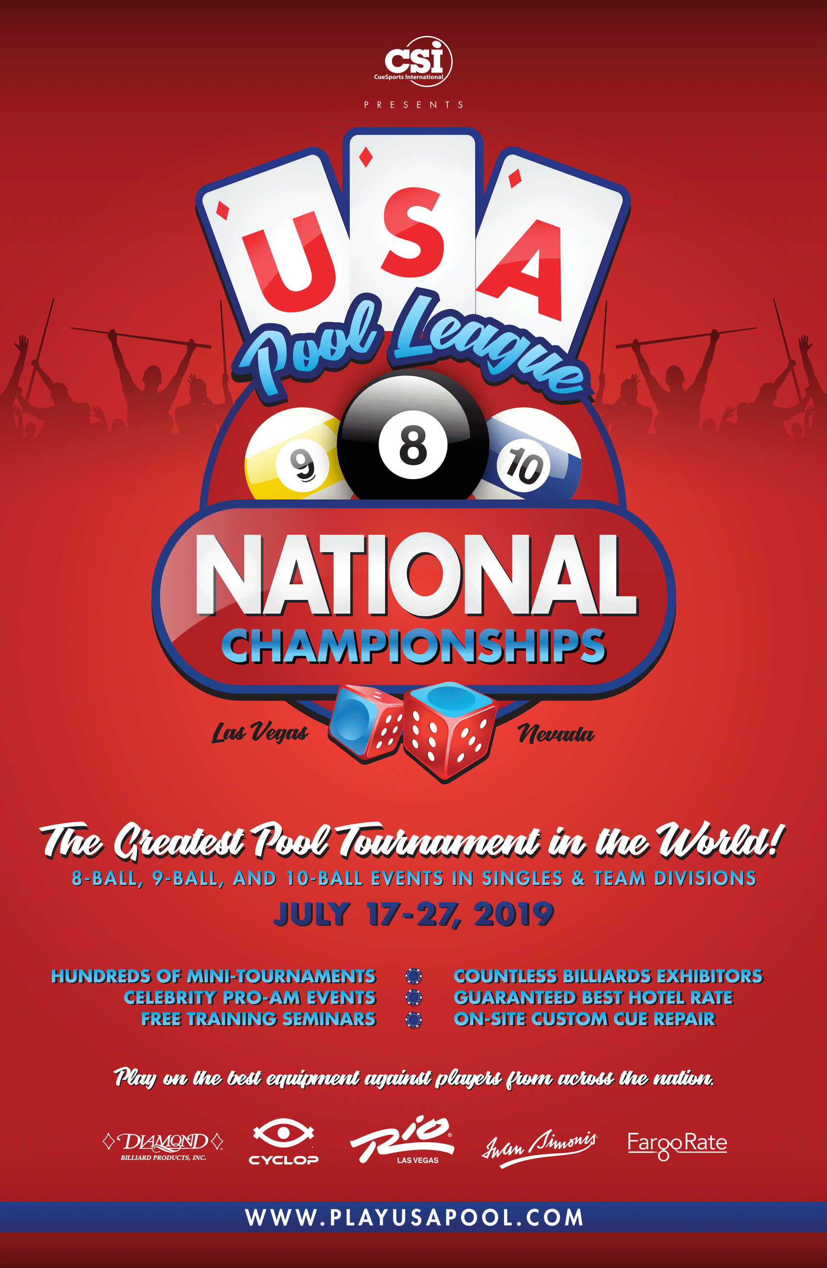 2019 USAPL National Championships - CueSports International (CSI)